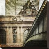 Grand Central Stretched Canvas Print by Richard James