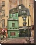Paris Odette Stretched Canvas Print by Dawne Polis