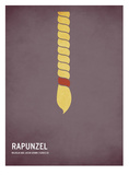 Rapunzel Prints by Christian Jackson