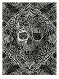 Skull Laces Posters af Ali Gulec