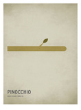 Pinóquio Posters por Christian Jackson