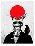 Splash Skull Prints by Ali Gulec