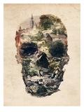 Skull Town Kunst af Ali Gulec