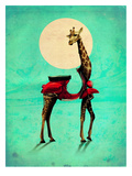 Giraffe Prints by Ali Gulec
