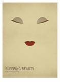 bella durmiente, La Pósters por Christian Jackson