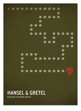 Hansel y Gretel Pósters por Christian Jackson