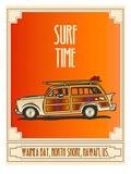 Surf Time Kunst af Diego Patino