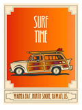 Surf Time Posters by Diego Patino