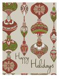 Happy Holidays Posters by Valentina Ramos