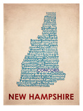 New Hampshire Print