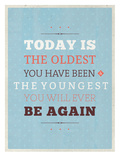 Oldest Youngest Posters by Maria Hernandez