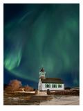 Northern Lights Print by Lina Kremsdorf