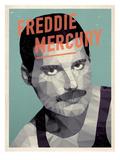 Freddy Mercury Plakater av Meme Hernandez