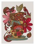 Guten Morgen Kunstdrucke von Valentina Ramos