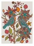 Perruches inséparables Poster par Valentina Ramos