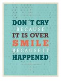 Cry Smile Prints by Meme Hernandez