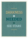 Darkness Pósters por Maria Hernandez