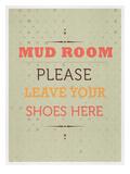 Mud Room Poster av Meme Hernandez