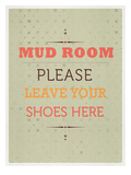 Mud Room Print by Meme Hernandez