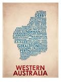 Western Australia Plakat
