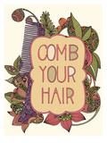 Combo Your Hair Poster van Valentina Ramos