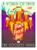 Black Forest Beer Prints by Diego Patino