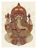 Ganesha Posters by Valentina Ramos