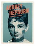 Audrey Hepburn Poster di Maria Hernandez