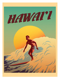 Hawaii Plakater af Diego Patino