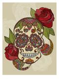 Sugar Skull Posters by Valentina Ramos