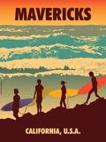 Mavericks Plakater af Diego Patino