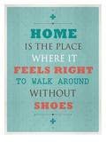 Without Shoes Plakat av Meme Hernandez