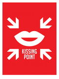 Kissing Point Prints by Patricia Pino