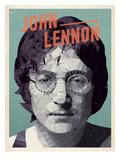 John Lennon Kunst av Meme Hernandez