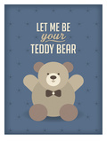 Teddy Bear Prints by Patricia Pino