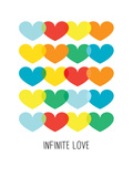 Infinite Love Affiches par Patricia Pino