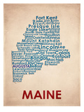Maine Print