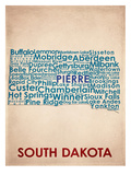 South Dakota Print