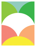 Spring Color Circles Prints by Patricia Pino