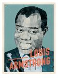 Louis Amstrong Posters par Meme Hernandez