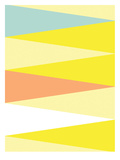 Spring Triangle Pattern Prints by Patricia Pino