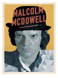 Malcolm McDowell Prints by Meme Hernandez