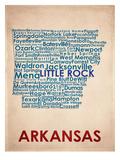 Arkansas Kunstdrucke