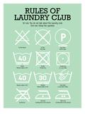 Laundry Club Green Schilderijen van Patricia Pino