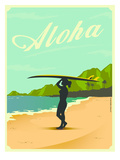 Aloha Posters by Diego Patino