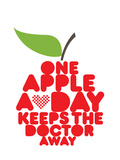 One Apple a Day Art by Patricia Pino