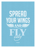 Spread Your Wings Poster by Patricia Pino