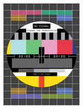 SALE TV Signal Posters by Patricia Pino
