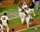 Travis Ishikawa Walk-Off Home Run Game 5 of the 2014 National League Championship Series Photo