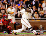 Pablo Sandoval Game 4 of the 2014 National League Championship Series Action Photo